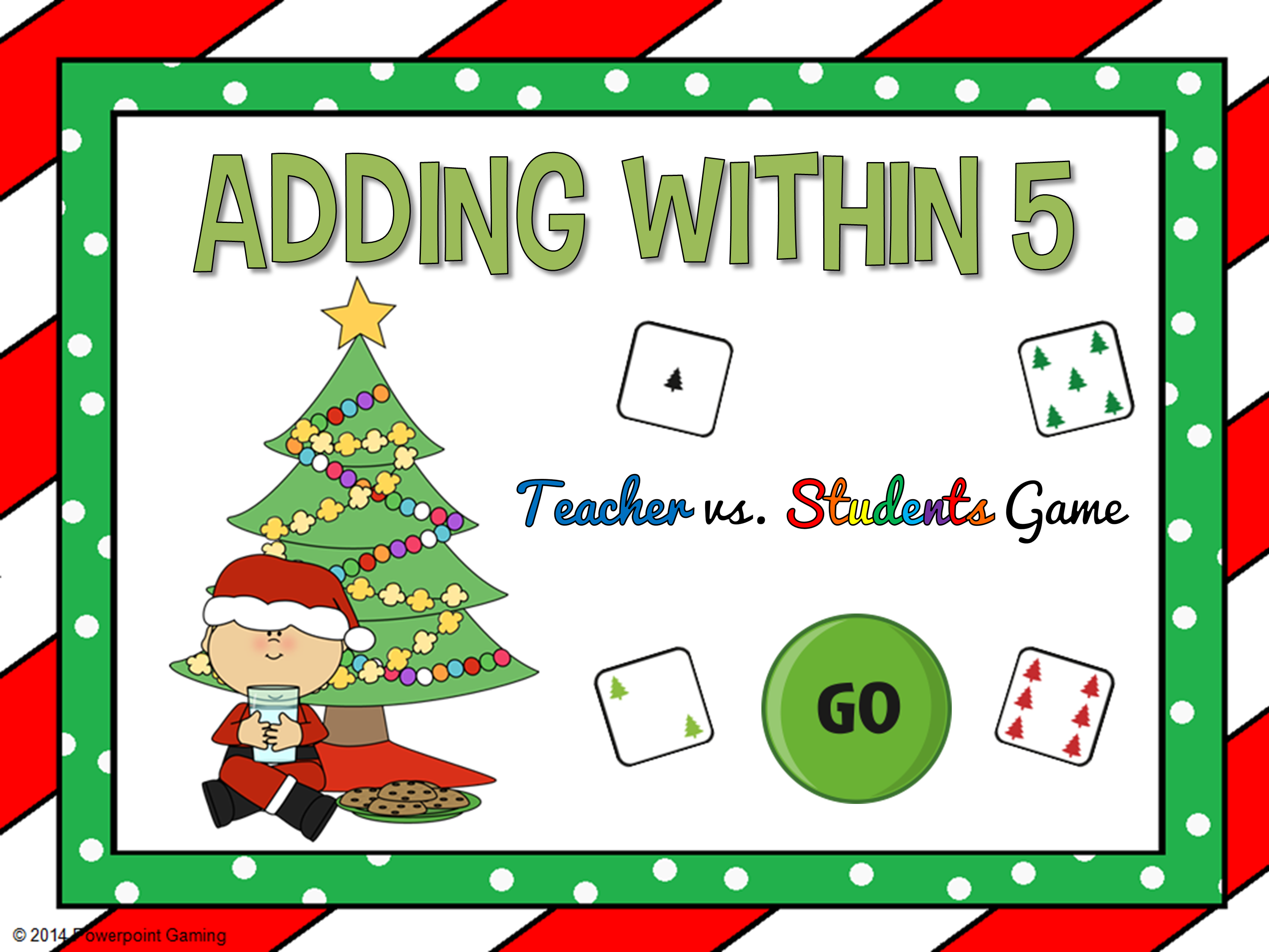 Adding Within 5 Christmas Edition