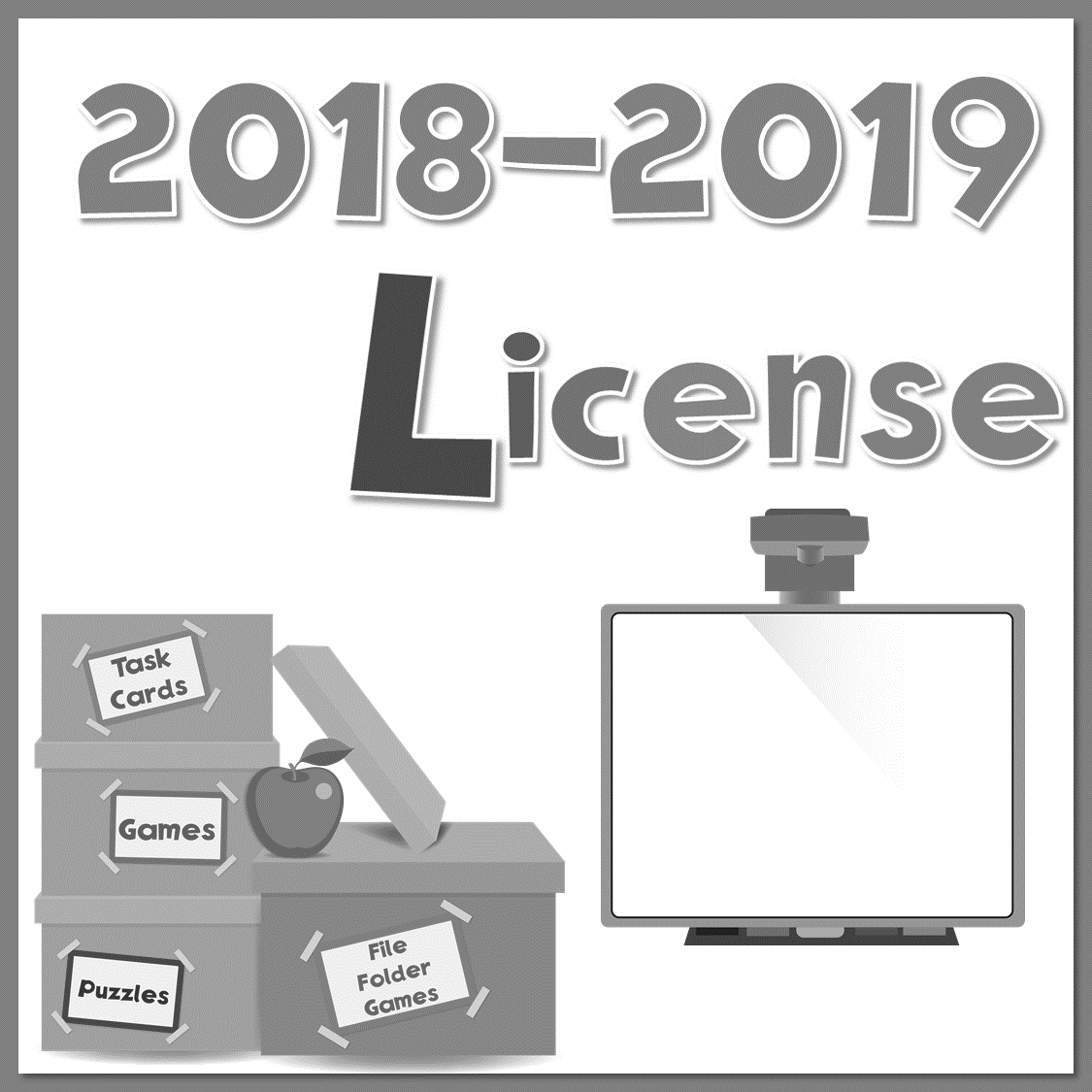 2018-2019 Yearly License