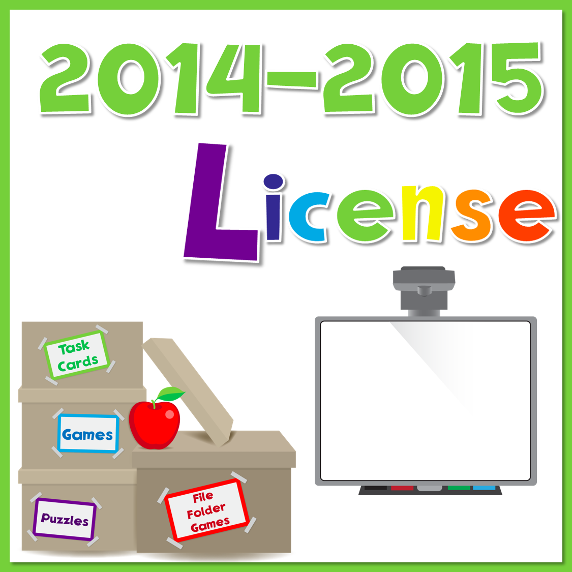 2014-2015 Yearly License