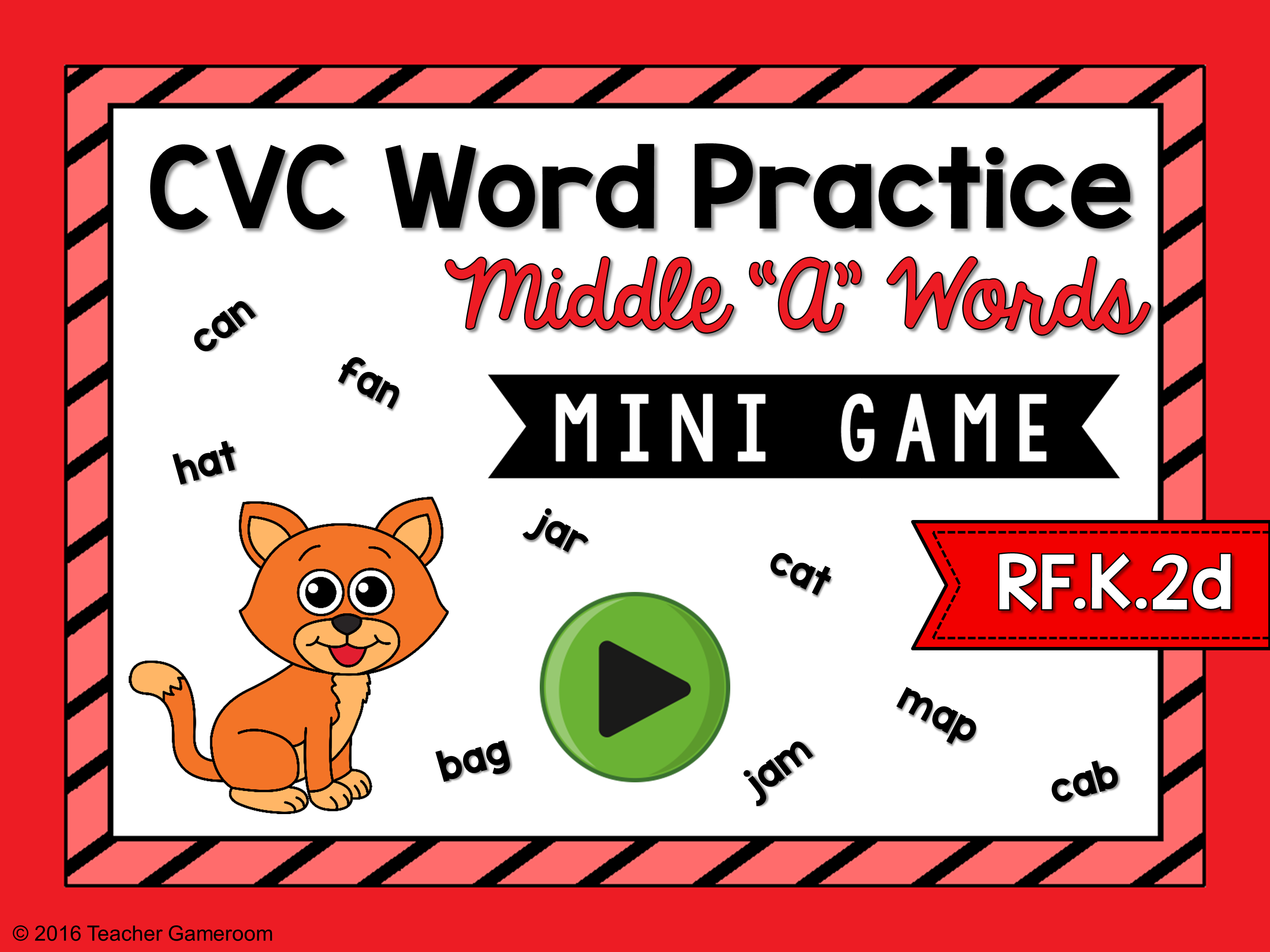 "CVC Middle ""A"" Practice Game"