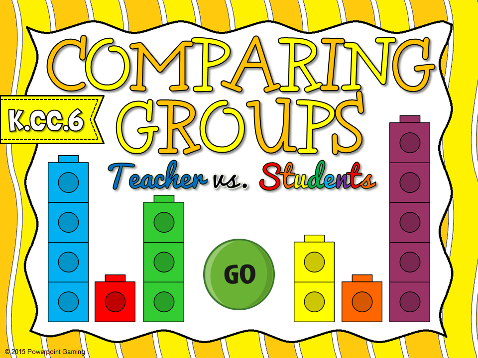 Comparing Groups Teacher vs Student Game