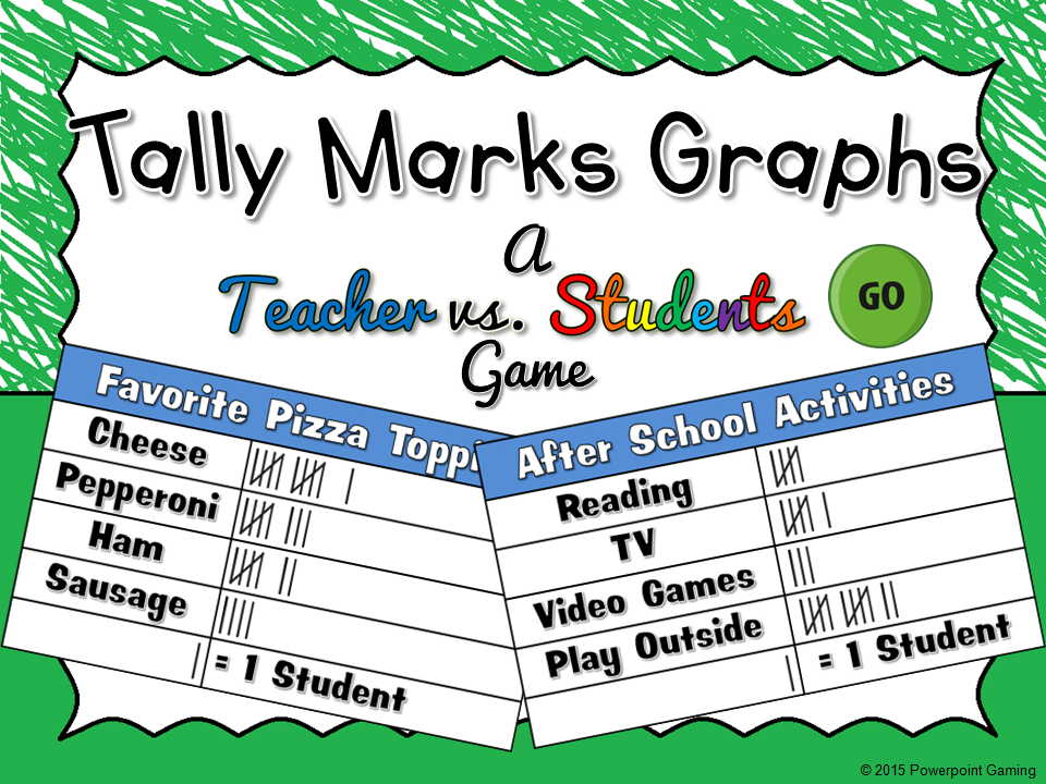 Tally Marks Game Teacher vs Student Game