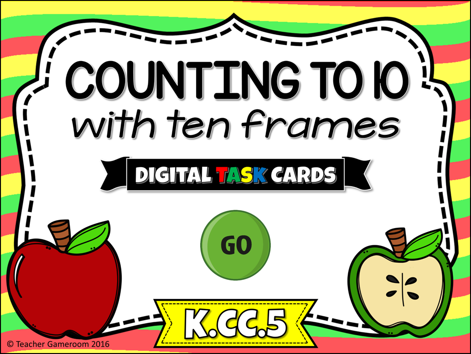 Counting to 10 Task Cards