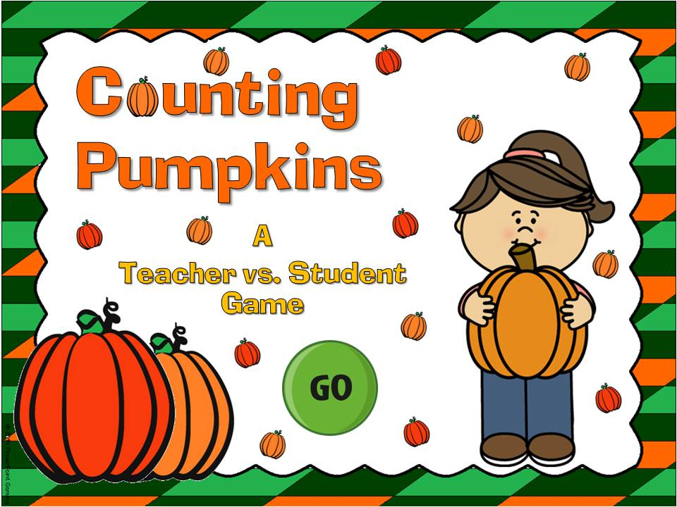 Counting Pumpkins Teacher vs Student Game