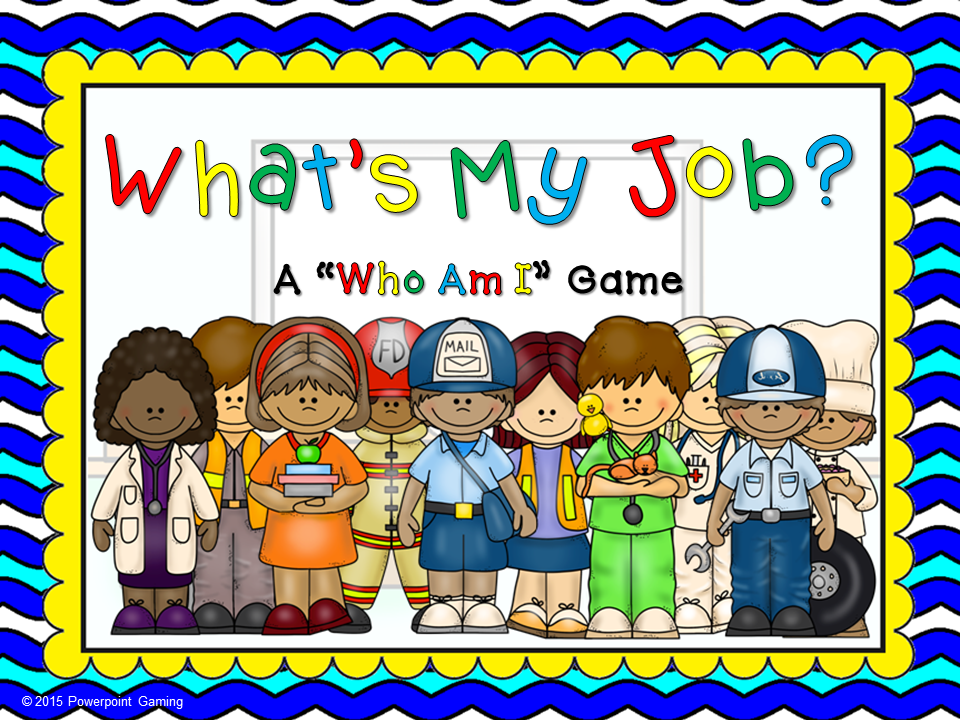Who am I? Community Helpers Game