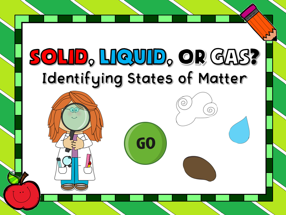 Solid, Liquid, or Gas Teacher vs Student Game