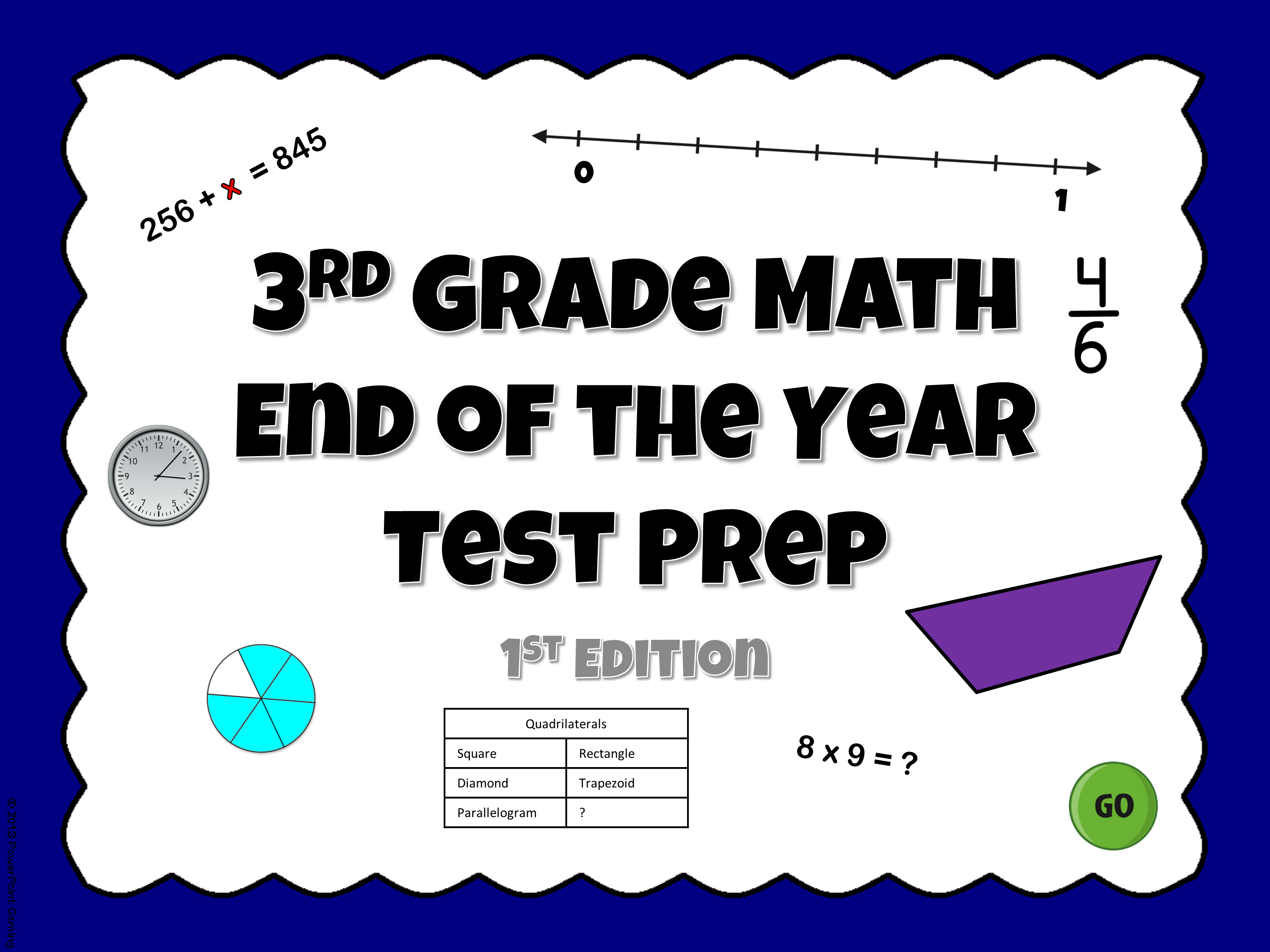 3rd Grade End of th Year Test Prep Game