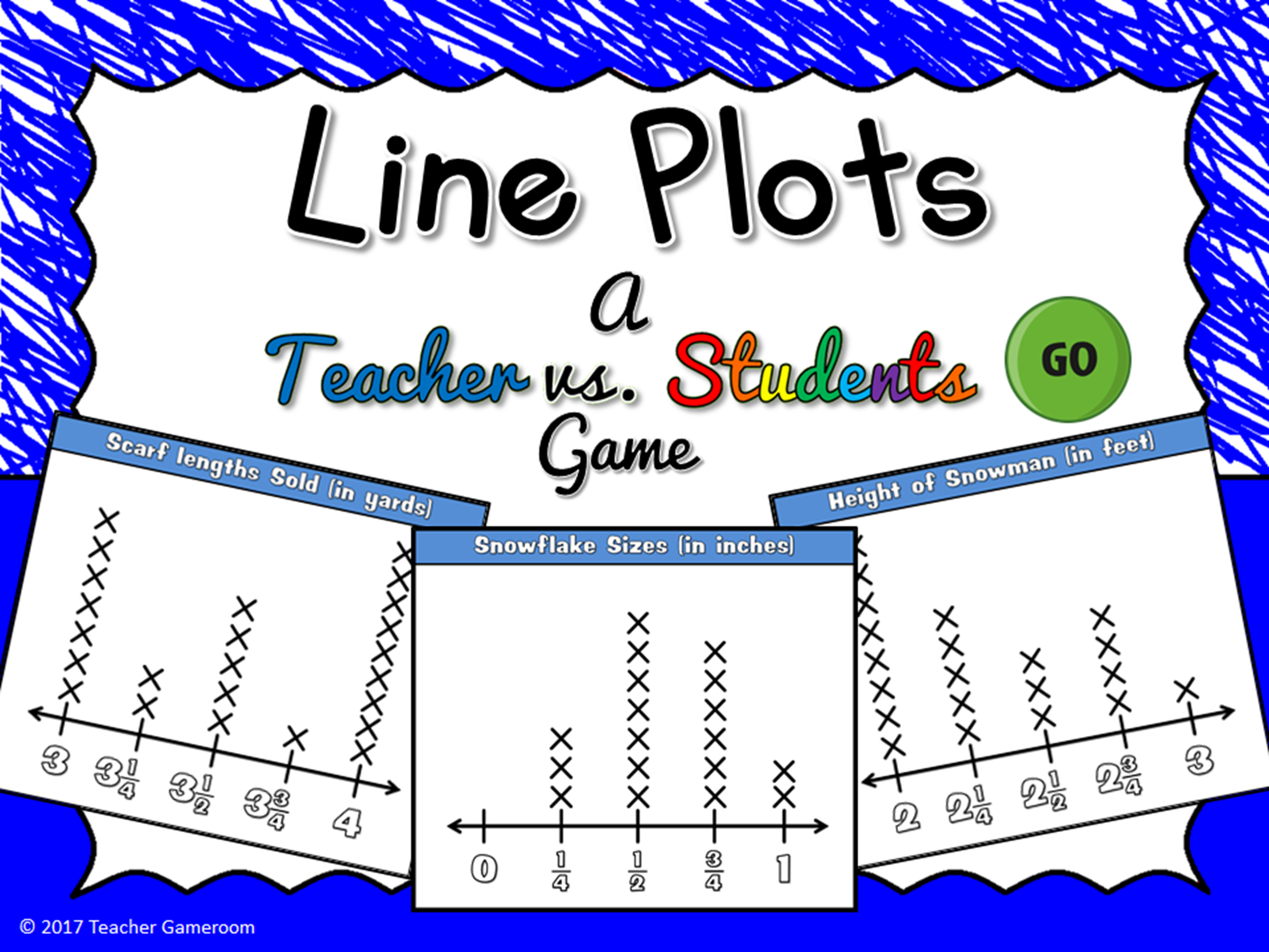 Line Plot Teacher bvs Student Game