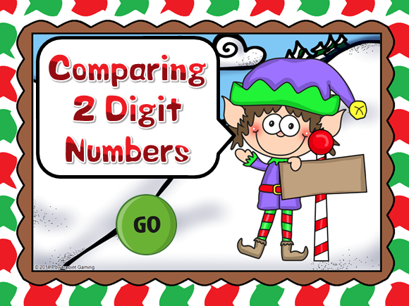 Comparing Numbers Teacher vs Student Game