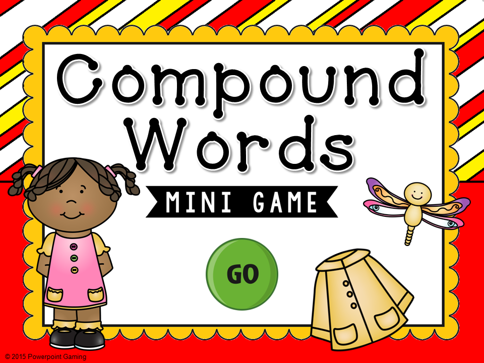 Compound Words Mini Game