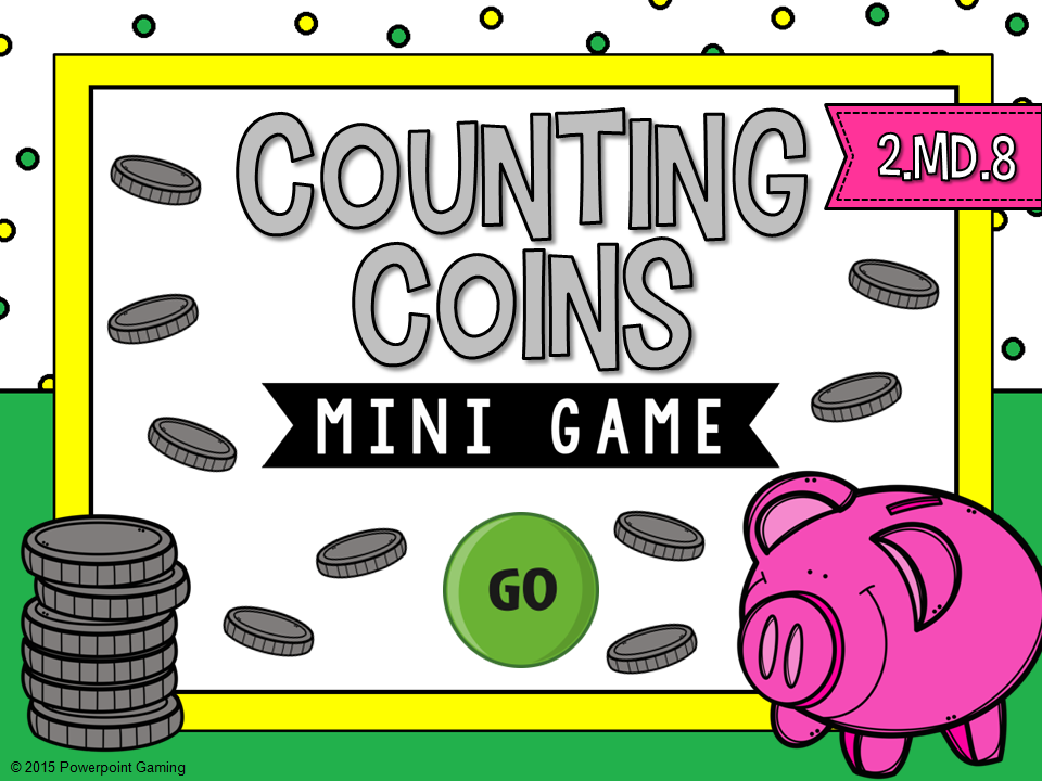 Counting Coins Mini Game
