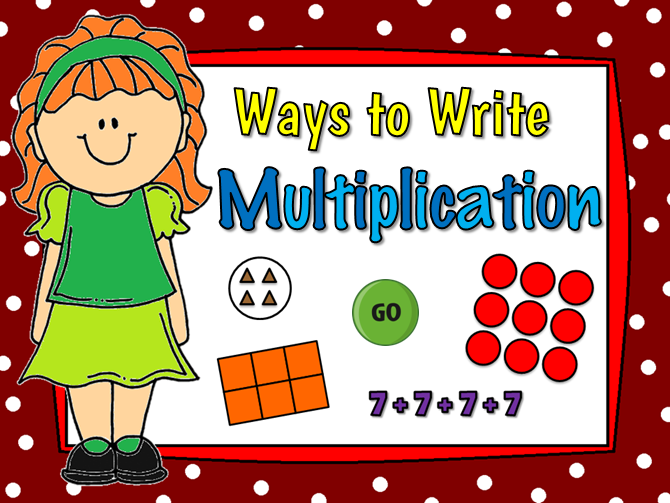Ways to Write Multiplication Teacher vs Student Game