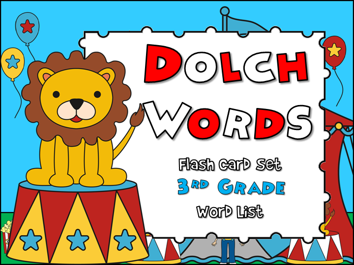 Dolch Words - 3rd Grade Flash Cards Game