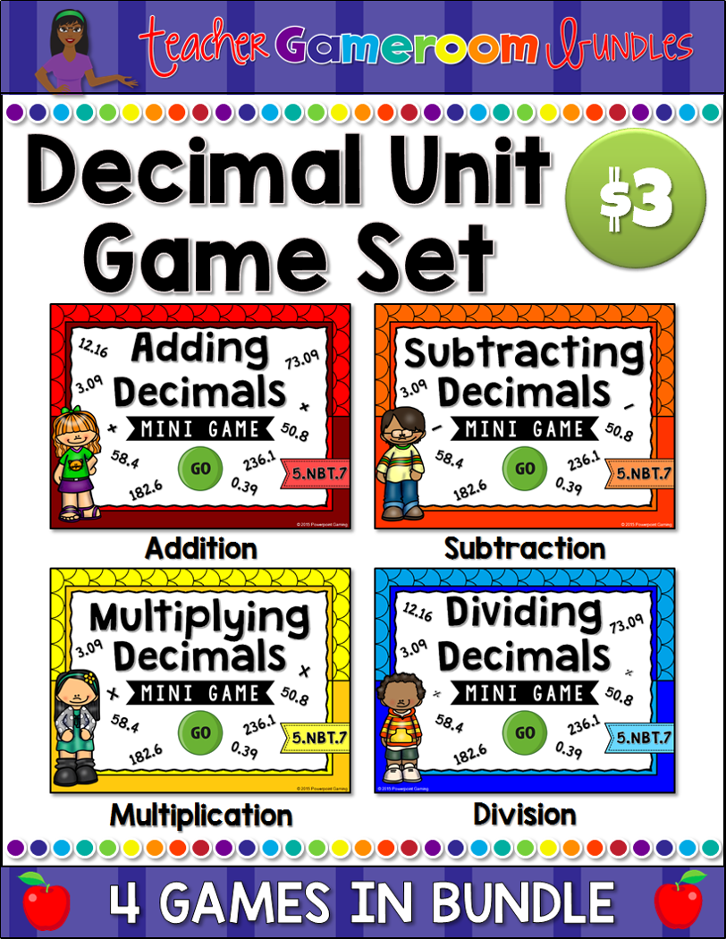 Decimal Unit Mini Game Set