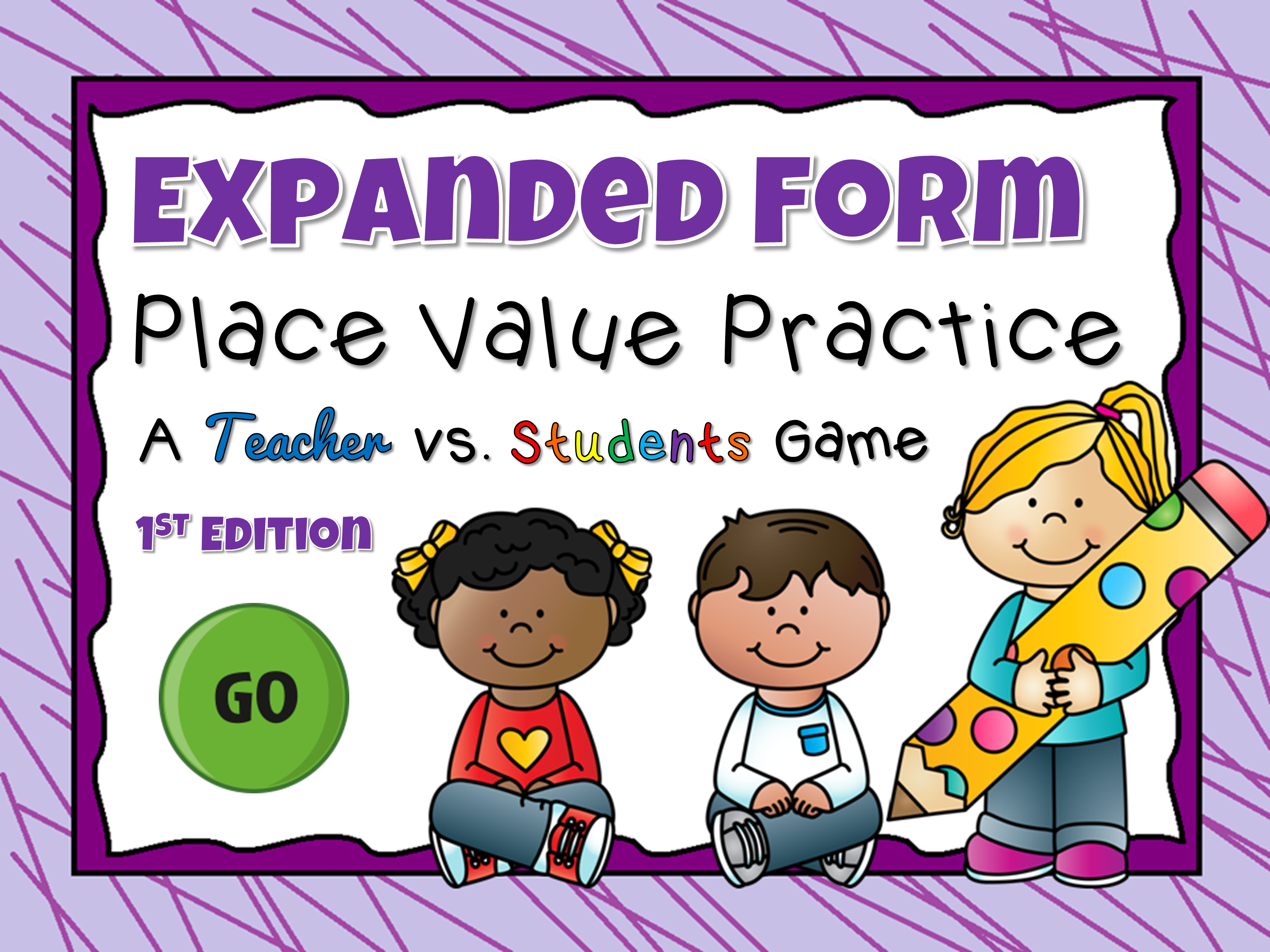 Expanded Form Practice Teacher vs Student Game