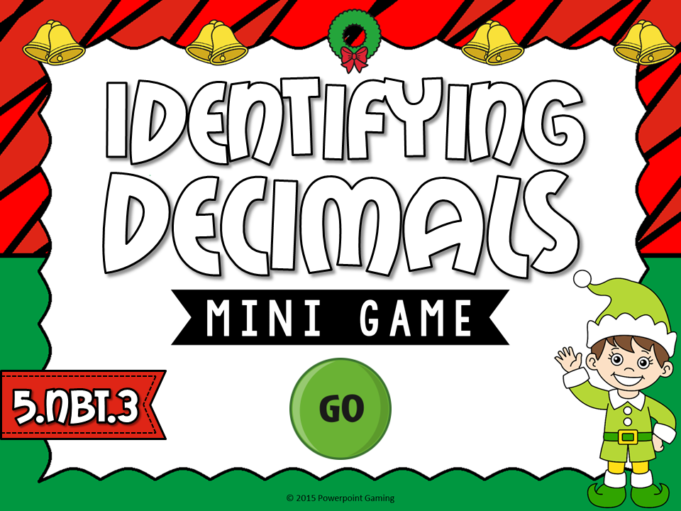 Identifying Decimals Mini Game