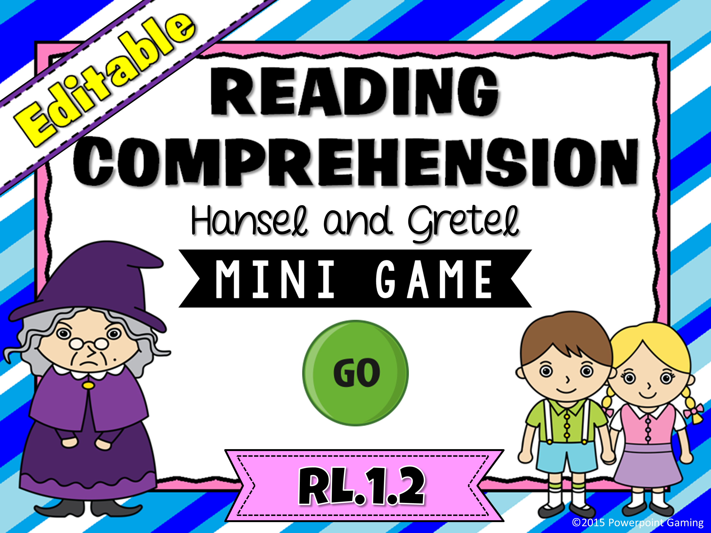 Reading Comprehension - Hansel & Gretel Game Mini Game