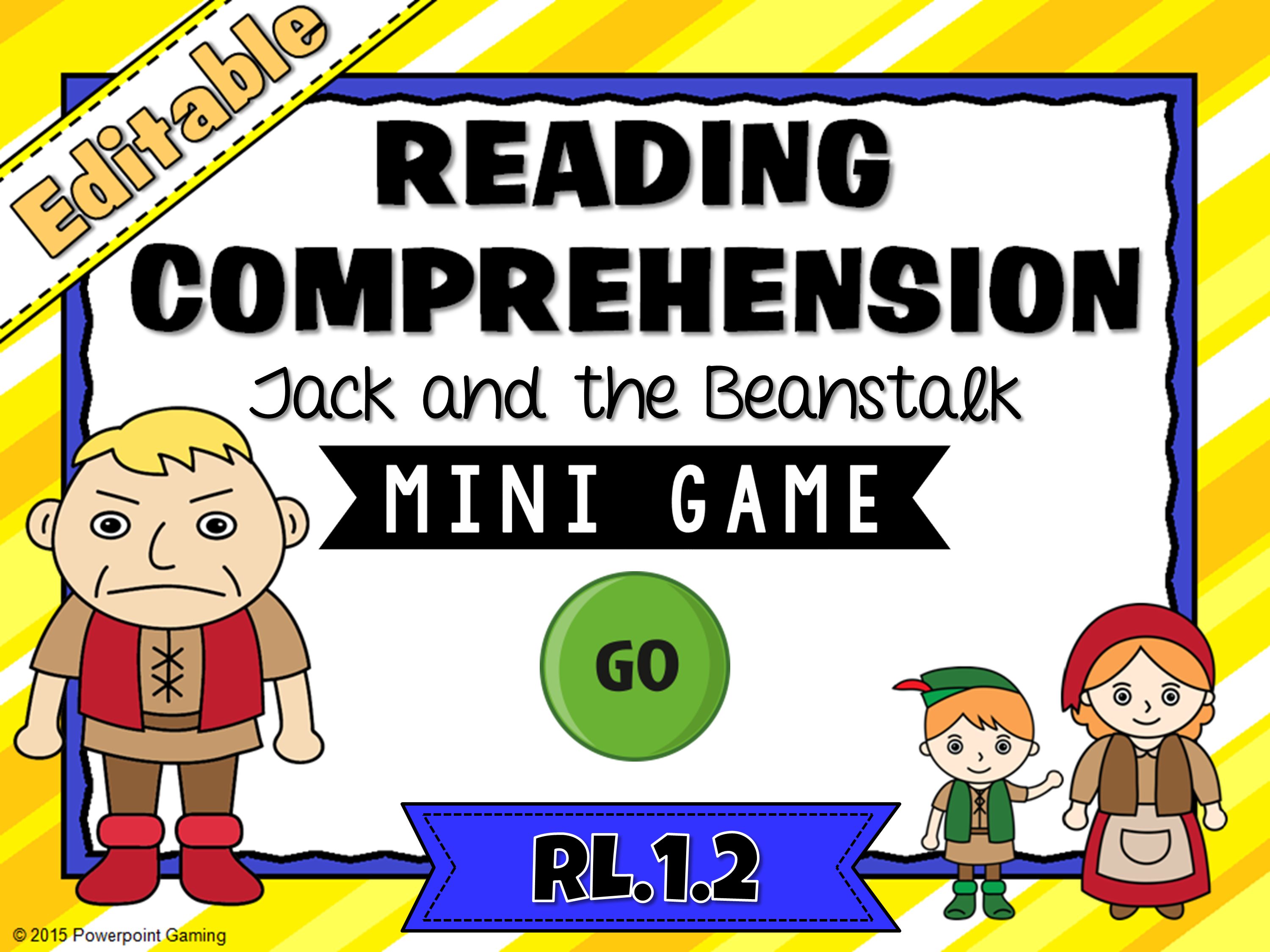 Reading Comprehension - Jack and the Beanstalk Mini Game