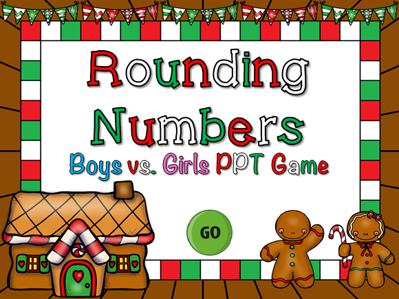 Rounding Numbers Student vs Student Game