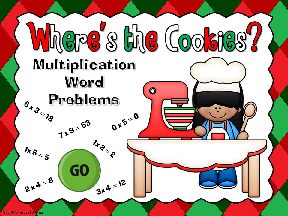 Multiplication Word Problems Game