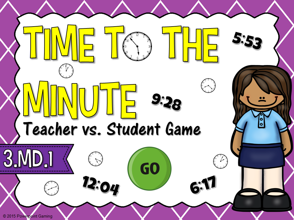 Time to the Minute Teacher vs Students Game