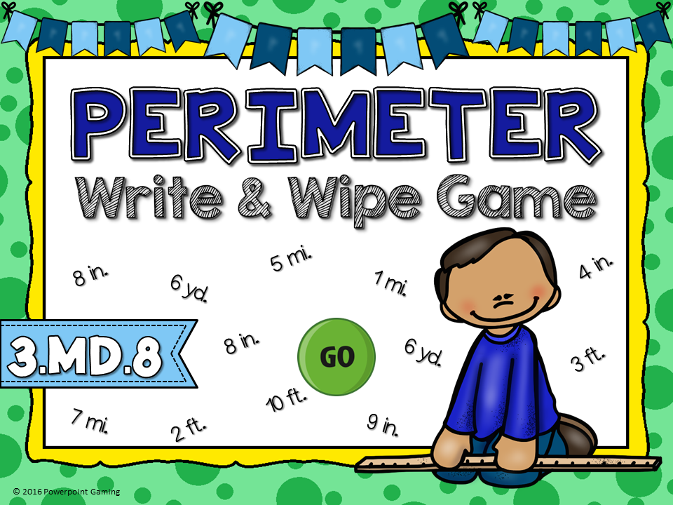 Perimeter - Write and Wipe Game