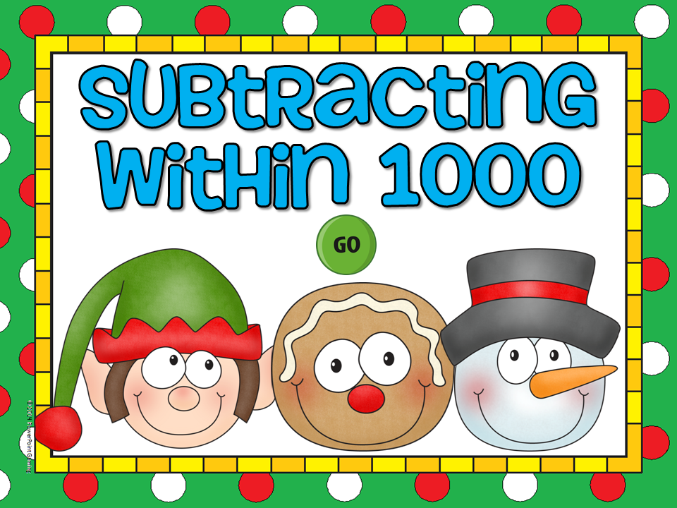 Subtraction within 1000 Student vs Student Game