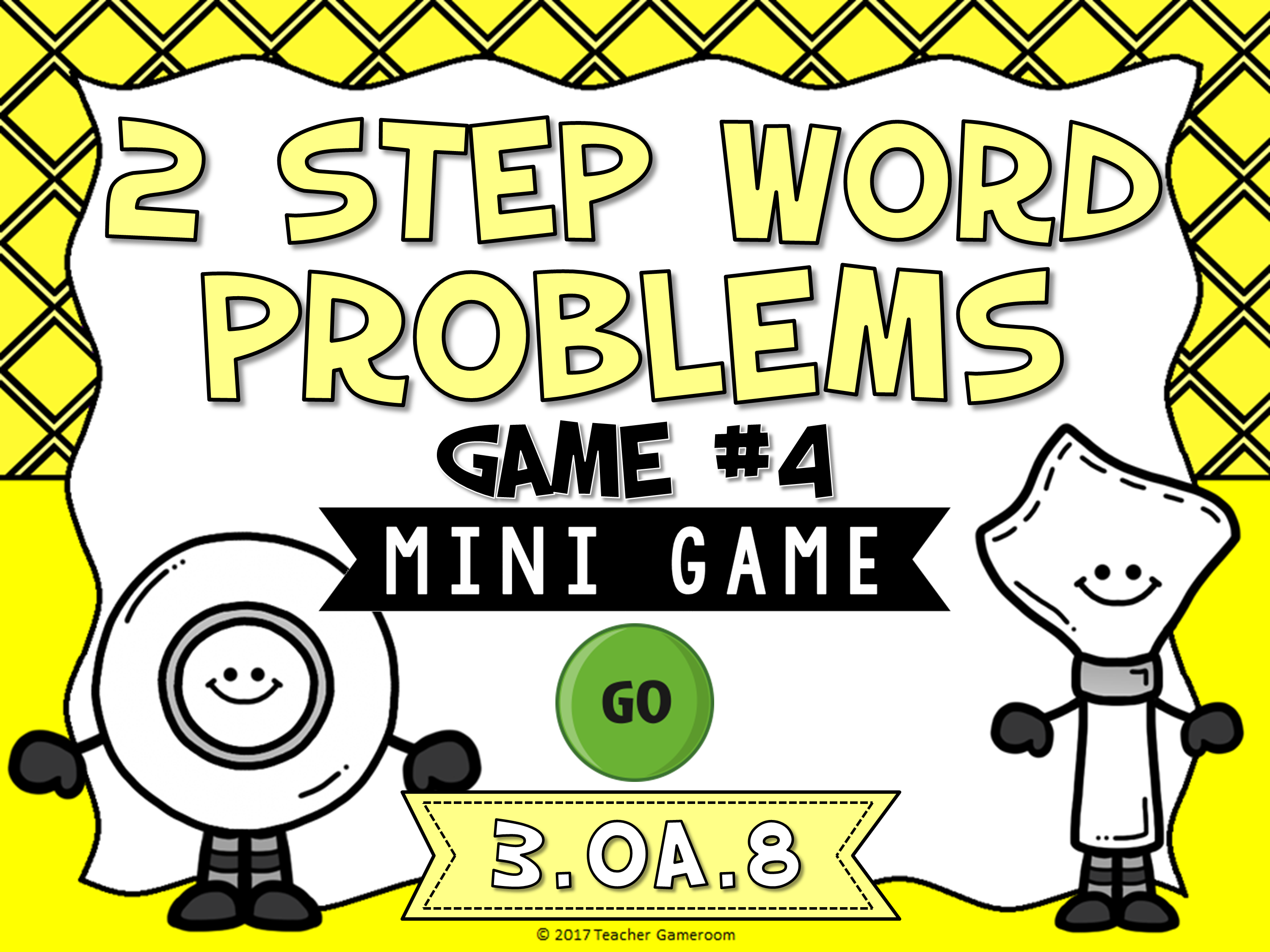 2 Step Words Problems Division Mini Game