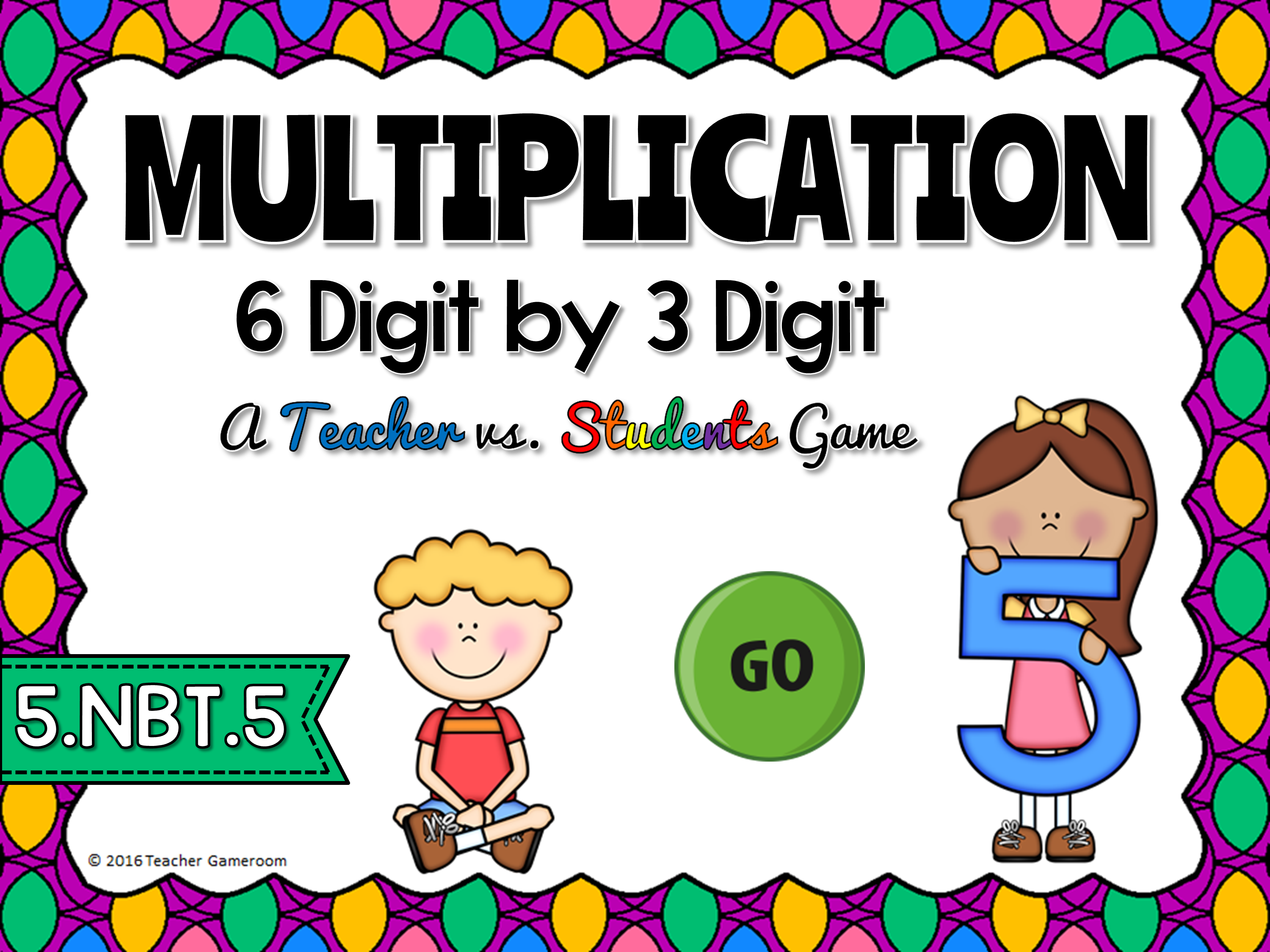 Multiplication 6 Digit by 3 Digit Game
