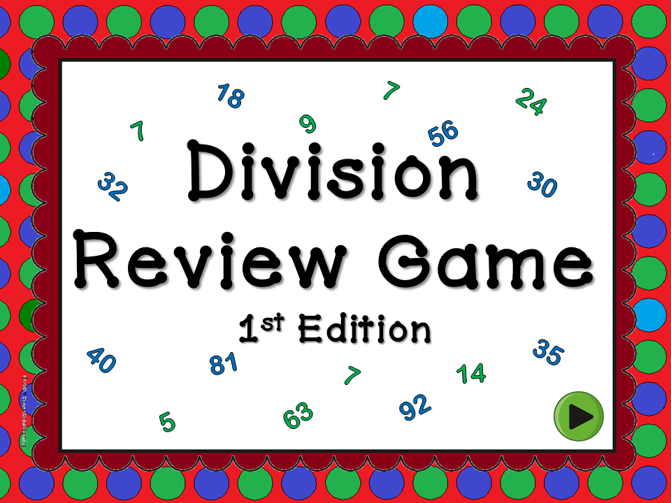 Division Review Jeopardy Game