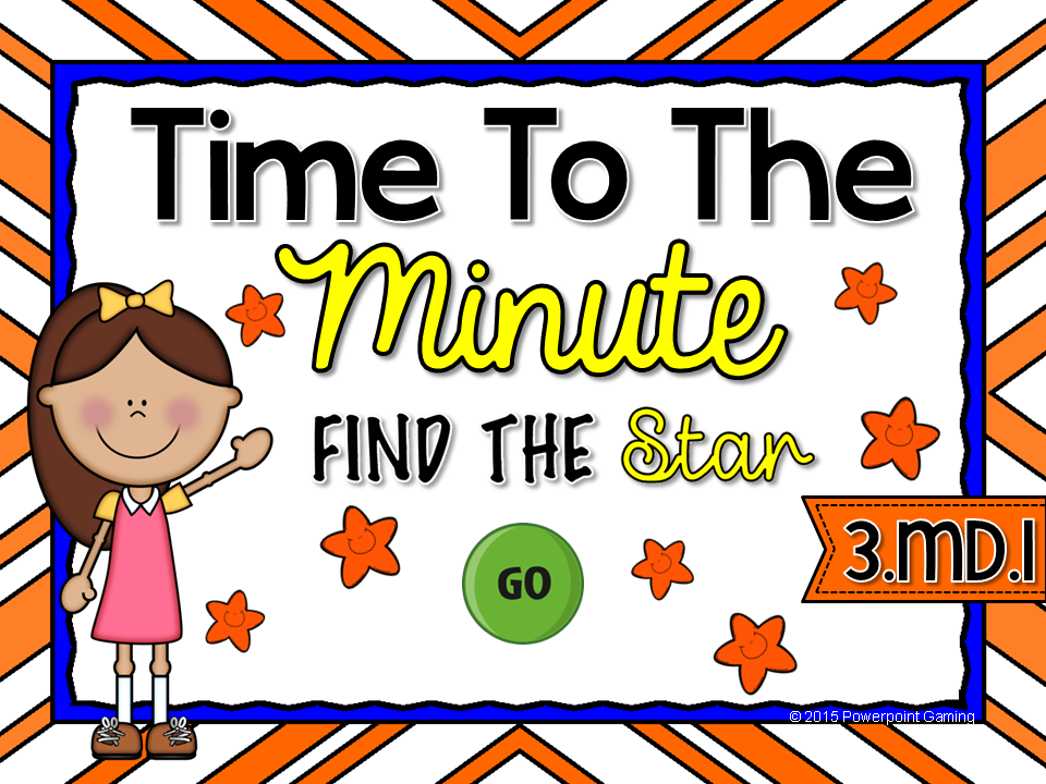 Time to the Minute - Find the Star Game