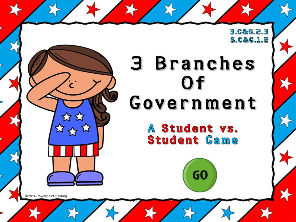 3 Branches of Government Game