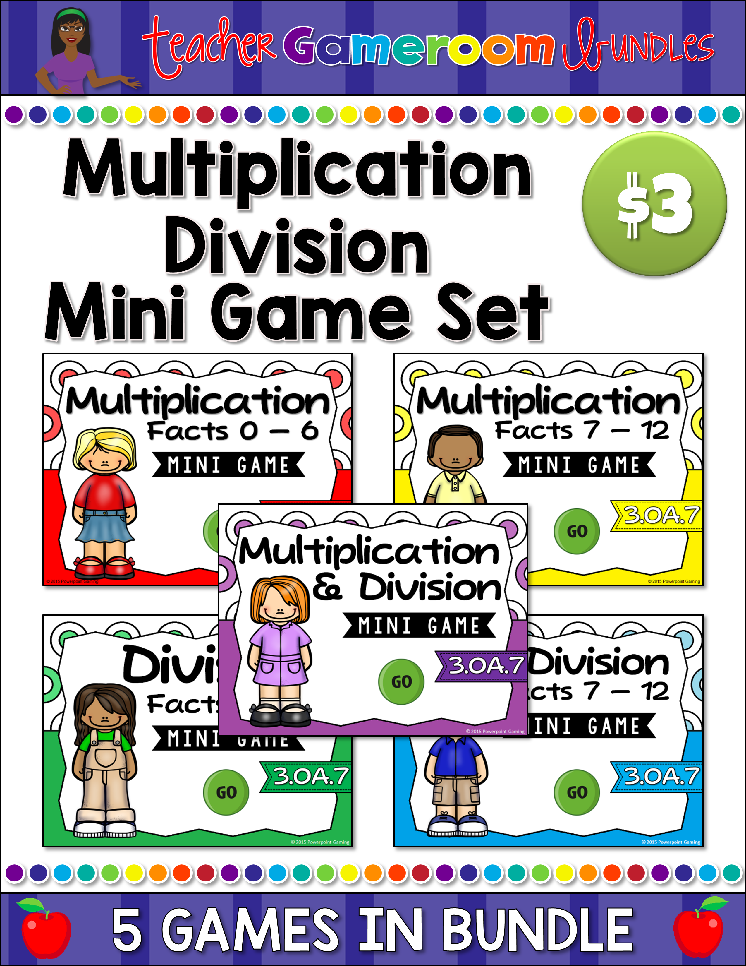 Multiplication and Division Mini Bundle