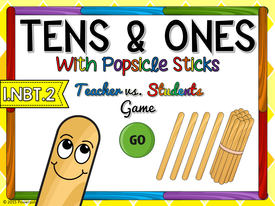 Tens and Ones Teacher vs Student Game
