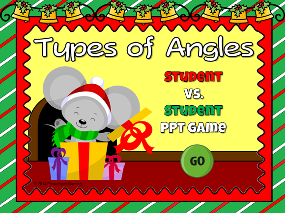 Types of Angles Student vs Student Game