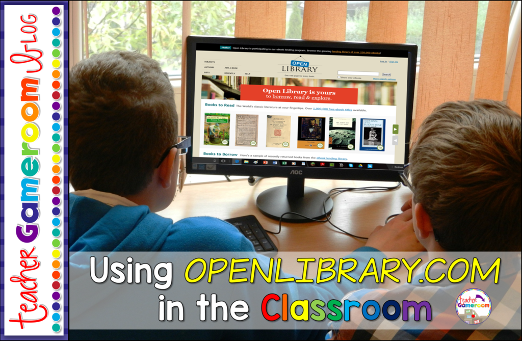 Using Openlibrary.com in the Classroom