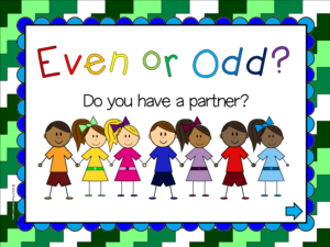2nd Grade Even or Odd Powerpoint Game