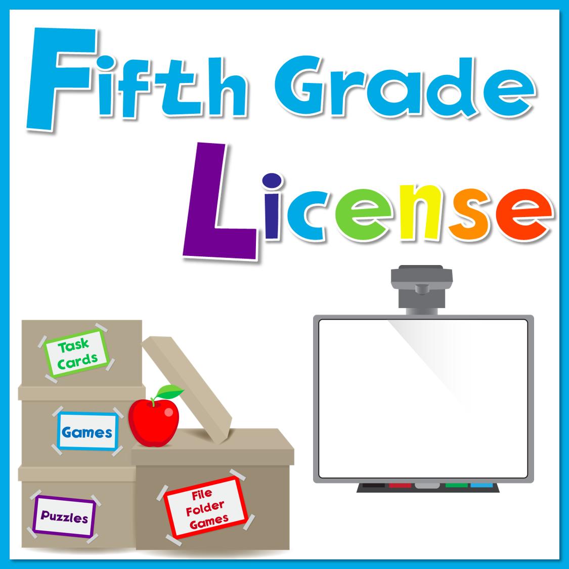 5th Grade License