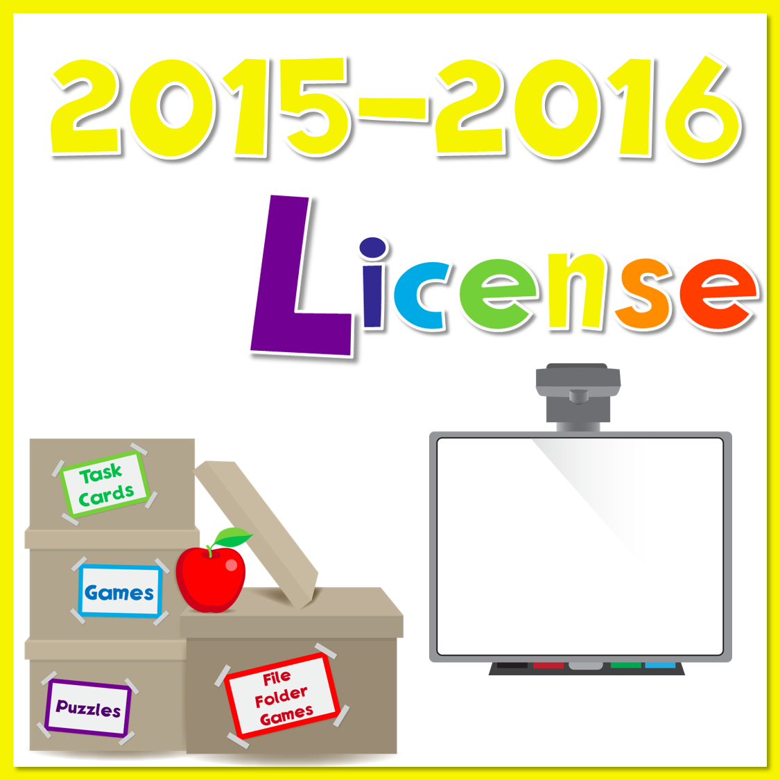2015-2016 Yearly License