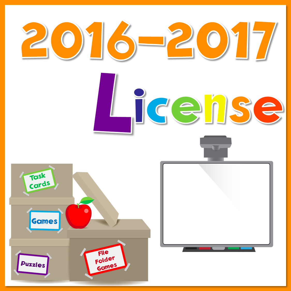 2016-2017 Yearly License