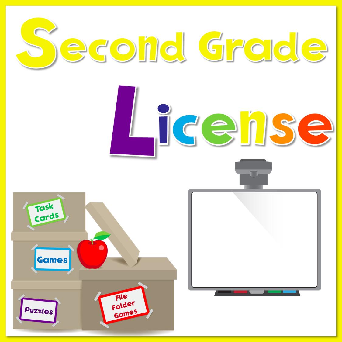 2nd Grade License