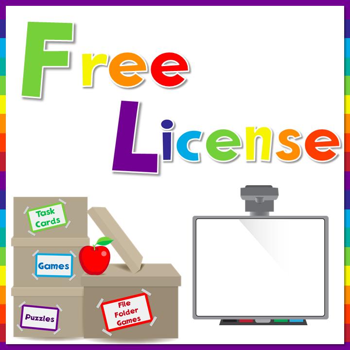 Free User License Button