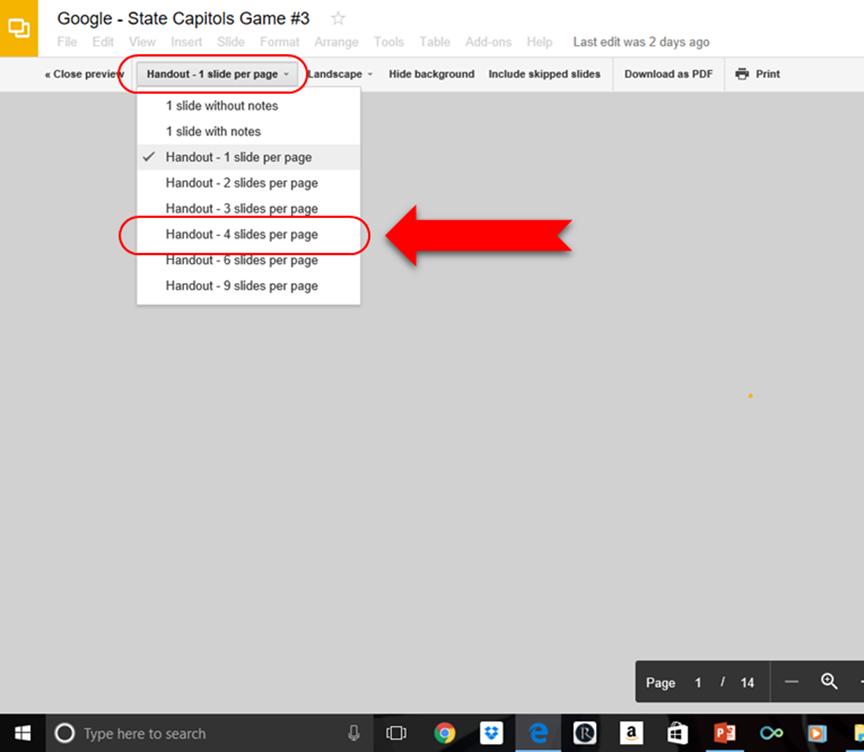 how to make notes on pdf slides